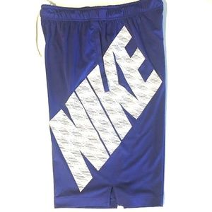 Nike Dri-Fit Basketball Shorts w/ Nike Spell Out